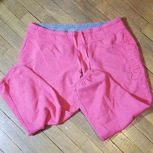 Calvin Klein capri sweat/jogger pants